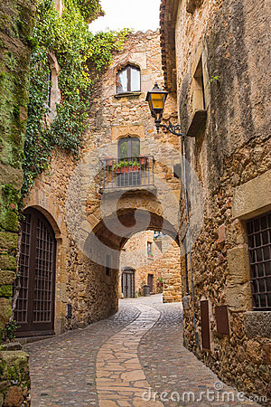 Pals medieval village
