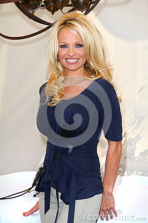Pamela Anderson Editorial Stock Image