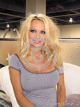 Pamela Anderson Editorial Stock Photo