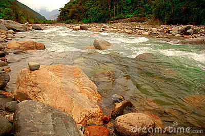 Pampa-Fluss