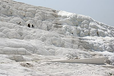 Pamukkale: Calcium terraces