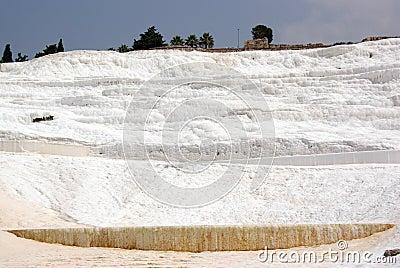 Pamukkale: Calcium wall