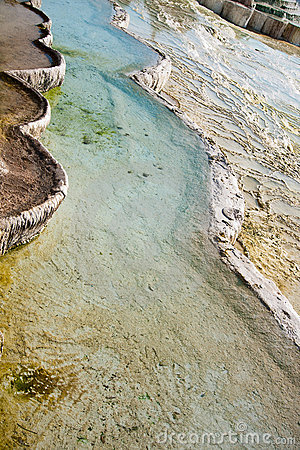 Pamukkale hot spring water