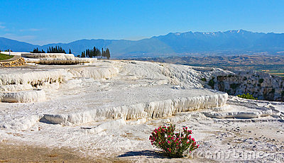 Pamukkale mountain, Turkey
