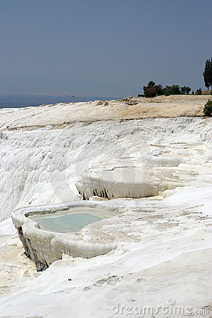 Pamukkale. Nature Phenomenon.