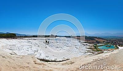 Pamukkale Turkey panorama
