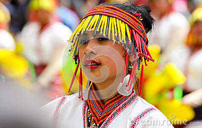 Panagbenga Festival, Baguio City Editorial Stock Photo