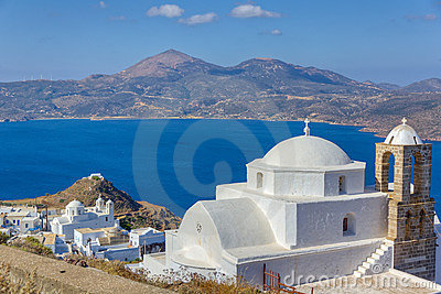 Panagia Thalassitra church, Milos island, Greece