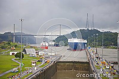 Panama Canal Editorial Stock Image