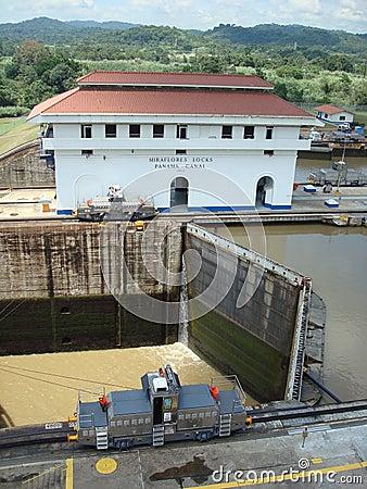 Panama canal Editorial Photo