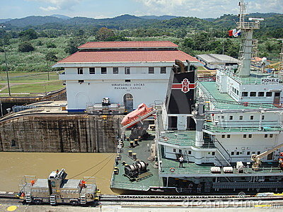 Panama canal Editorial Photography