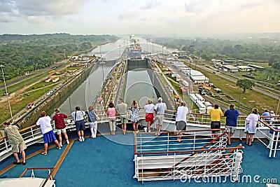 Panama Canal Editorial Photography