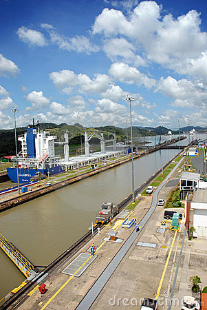 Free Panama Channel Stock Photography - 6157632