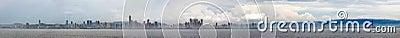 Panama city panoramic