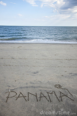 Panama Written in Sand