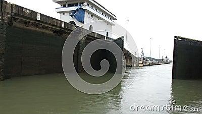 Panamski kanał blokuje, zafrachtowania, wysyłka, transport zbiory wideo