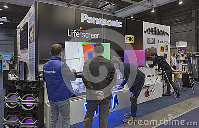 Panasonic company booth at cee 2015 the largest for Largest craft shows in the us