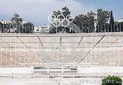 Panathinaiko Stadium in Athens Editorial Photo