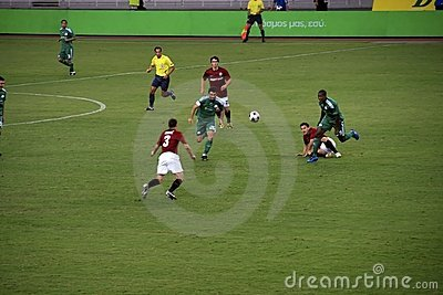 Panathinaikos Athens vs. Sparta Praha Editorial Stock Photo