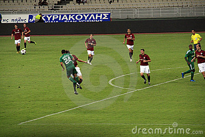 Panathinaikos Athens vs. Sparta Praha Editorial Photography