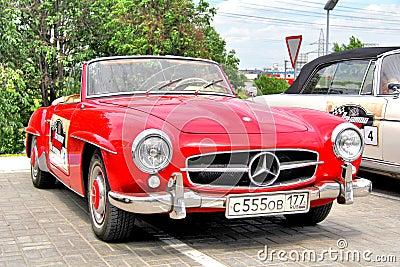 Panauto Travel Rally 2012 Editorial Stock Photo
