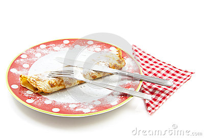 Pancake Lunch Stock Image - Image: 24897551