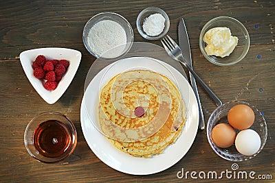 Pancake preparation