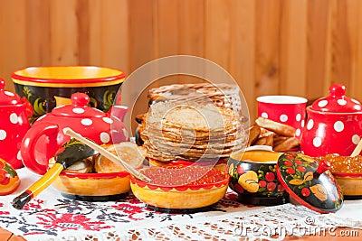 Pancake during  Shrovetide