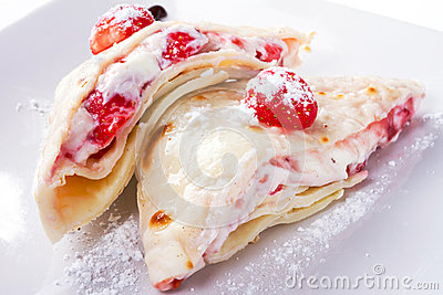 Pancake squisiti con le fragole