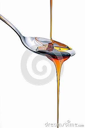 Free Pancake Syrup Royalty Free Stock Photography - 14098697