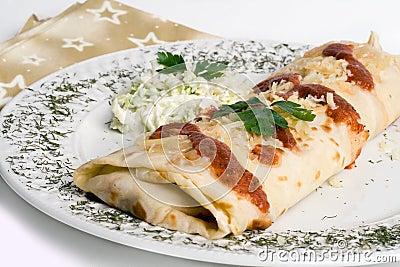 Pancake / tortilla / burrito