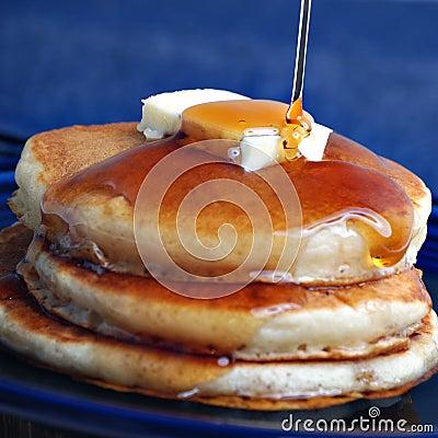 Free Pancakes Royalty Free Stock Image - 6065786