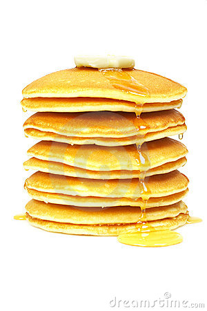 Free Pancakes With Syrup And Butter Stock Photos - 4496613