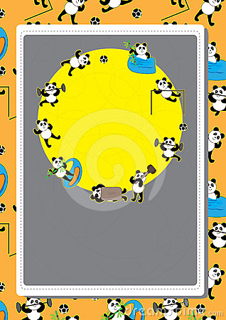 Panda Action Pattern Card_eps_