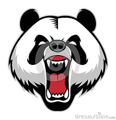 Free Panda Head Mascot Stock Photo - 35695510