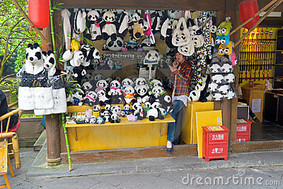 Panda store Editorial Photo