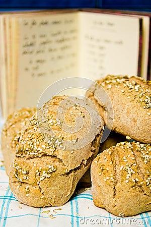 Pane con la ricetta
