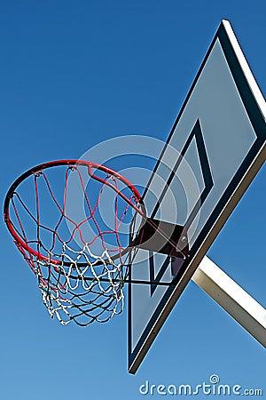Panel basketball hoop-4
