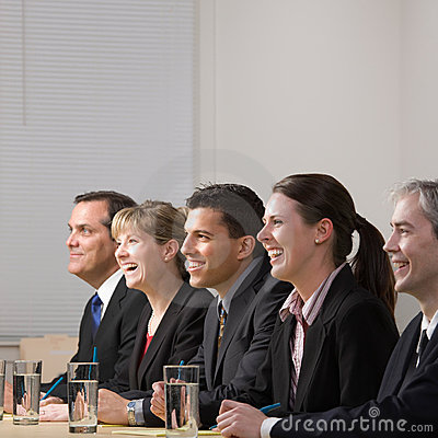 Panel of co-workers