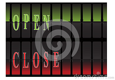 Panel Open Closed