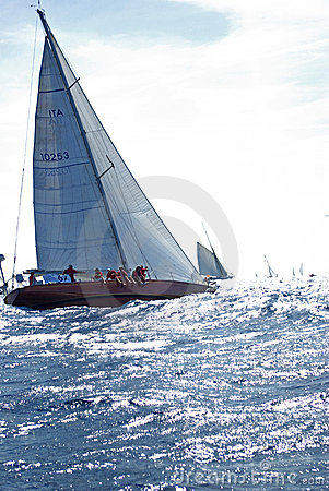 Free PANERAI CLASSIC YACHTS CHALLENGE 2008 Stock Images - 6398664