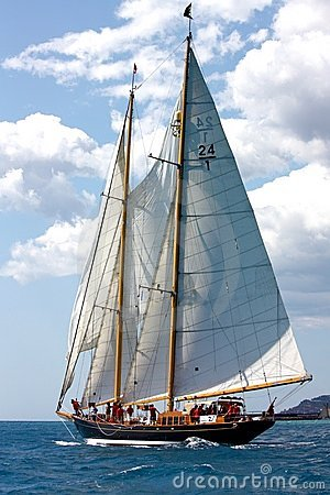 Free Panerai Classic Yachts Challenge 2008 Royalty Free Stock Photo - 6400445