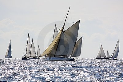 Panerai Classic Yachts Challenge 2008 Editorial Stock Image
