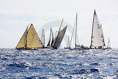 Panerai Classic Yachts Challenge 2008 Editorial Image
