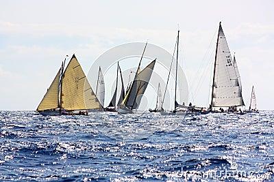 Panerai Classic Yachts Challenge 2008 Editorial Image