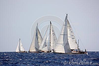 Panerai Classic Yachts Challenge 2008 Editorial Photography