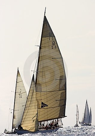 Panerai Classic Yachts Challenge 2008 Editorial Photography