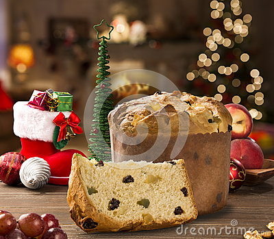 Panettone stock photo image 44857656 for List of traditional christmas desserts