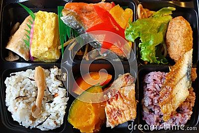 panier repas japonais bento photographie stock libre de. Black Bedroom Furniture Sets. Home Design Ideas