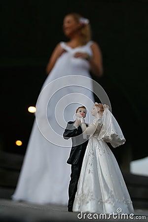 Panna młoda na ślub